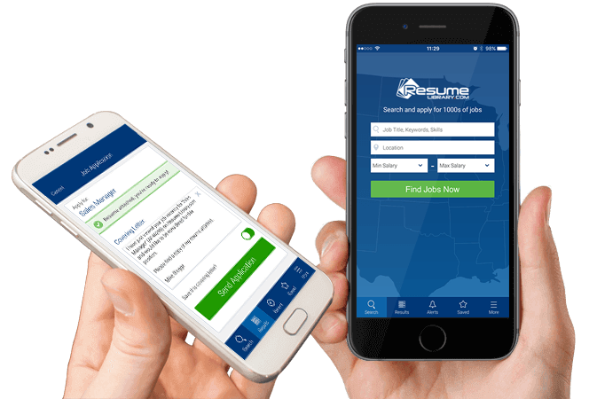 Resume Library On The Go  Mobile Resume